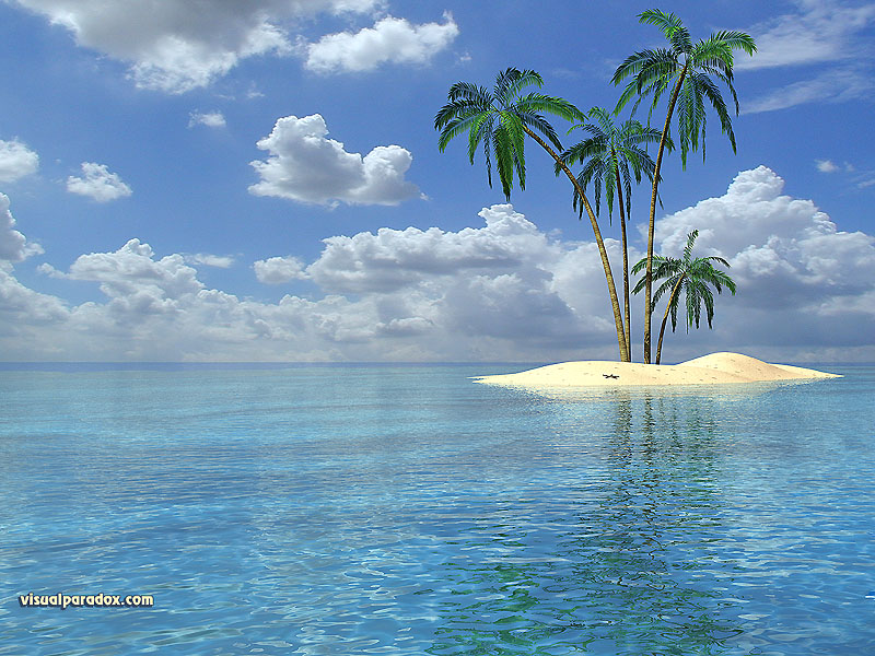 Free 3D Wallpaper 'Isle' 800x600