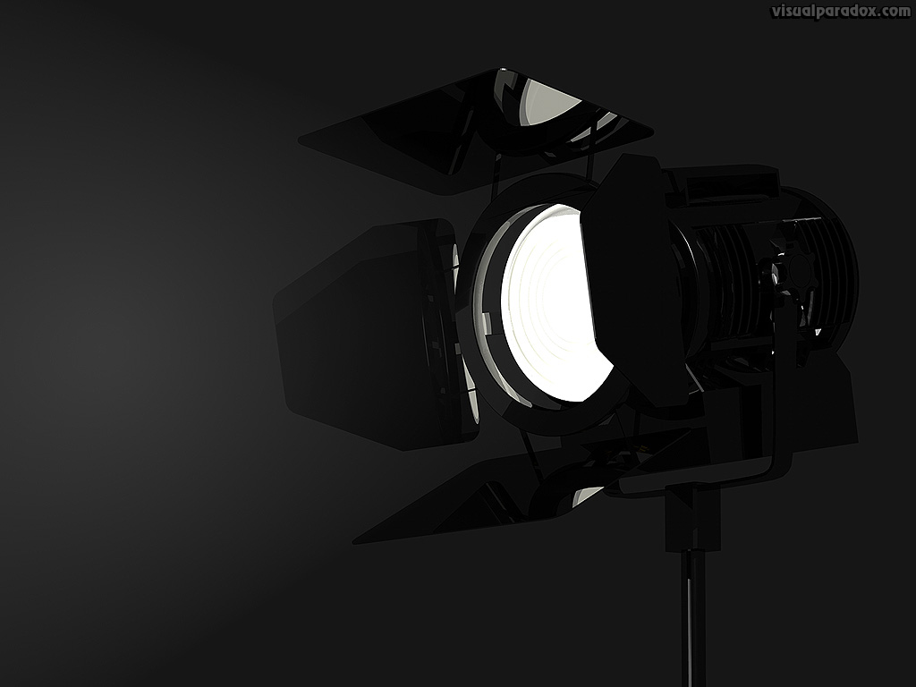 limelight, lite, stage, screen, movie, set, light, gel, lamp, dark , 3d, wallpaper