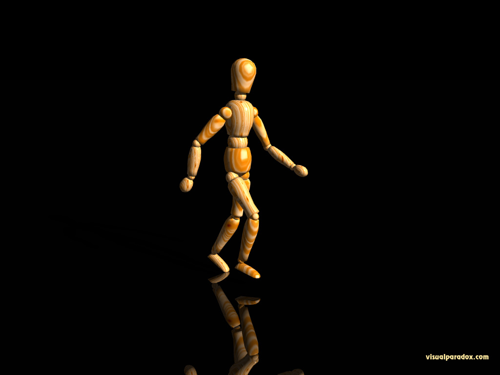 mannequin, wooden, doll, jogging, moving, go, locomotion, poser, 3d, wallpaper