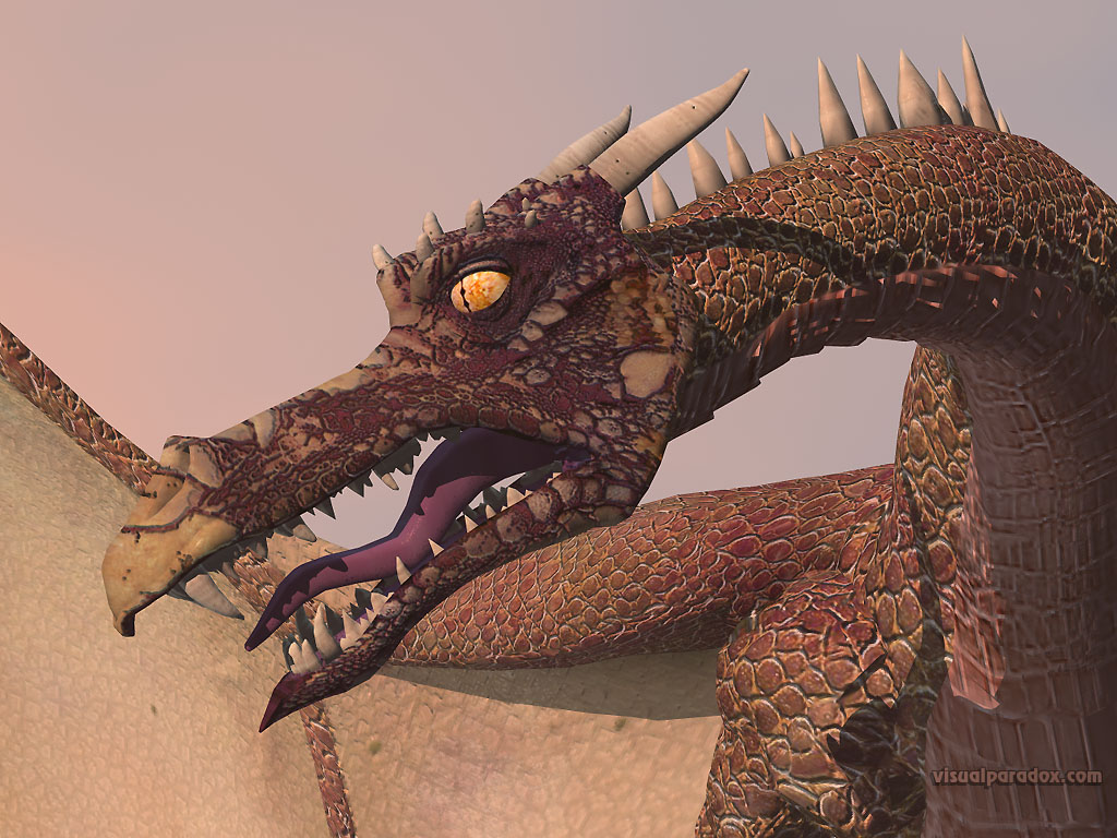 fly, wyrm, mythical, monster, soar, dragons, closeup, detail, 3d, wallpaper