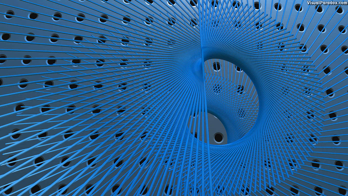 vortex, whirlpool, twist, spin, recursive, medal, plate, grill, grid, stereo, speaker, holes, abstract, 3d, wallpaper
