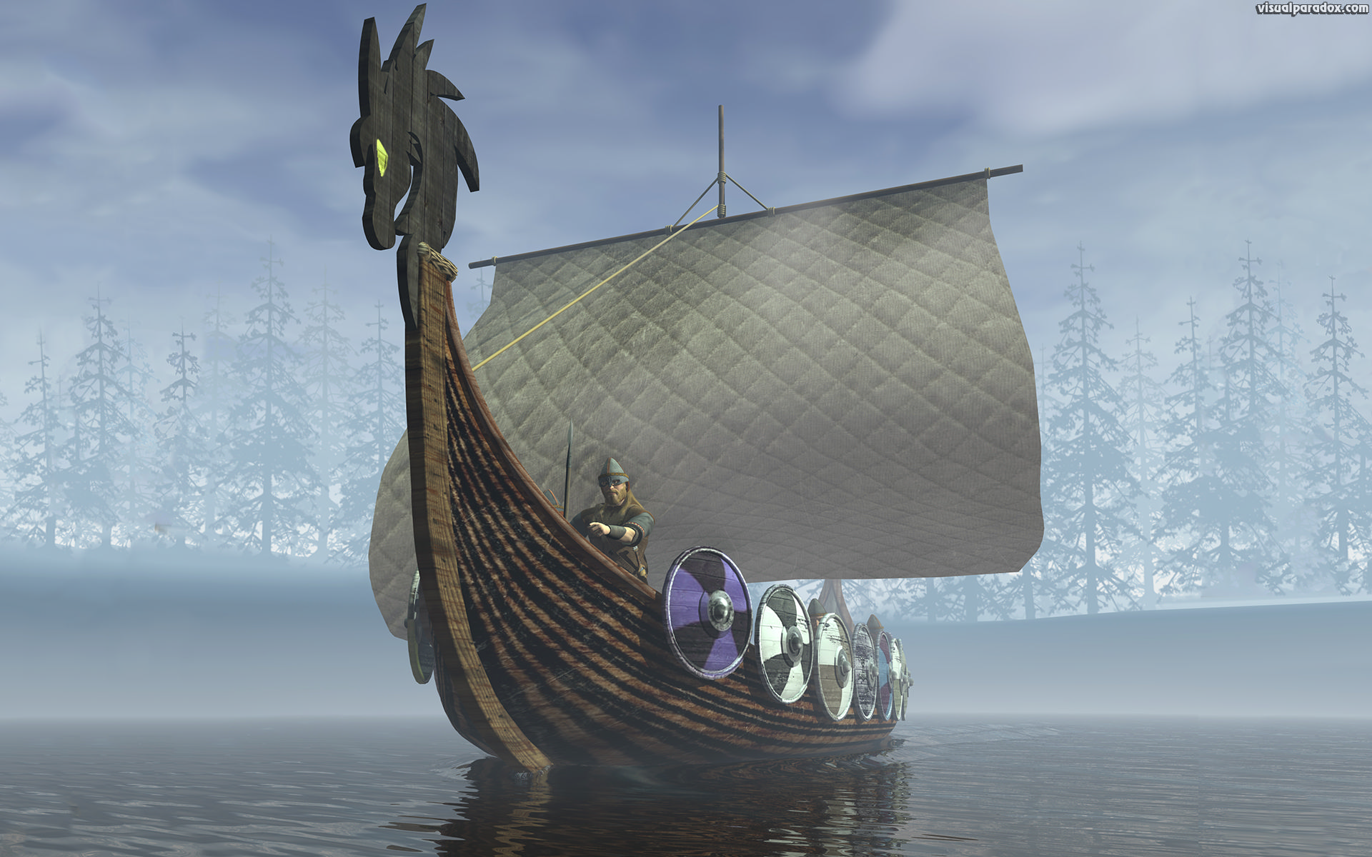 ancient, attack, bay, black, boat, brave, calm, coast, culture, dragon, drakkar, figurehead, fog, history, horde, human, landscape, male, medieval, men, natural, nature, north, ocean, old, ornate, outdoors, people, person, raider, sail, sailing, sea, seafaring, shield, ship, sky, strength, strong, traditional, transportation, travel, vessel, viking, vintage, voyage, war, warrior, warship, water, white, wood, 3d, wallpaper
