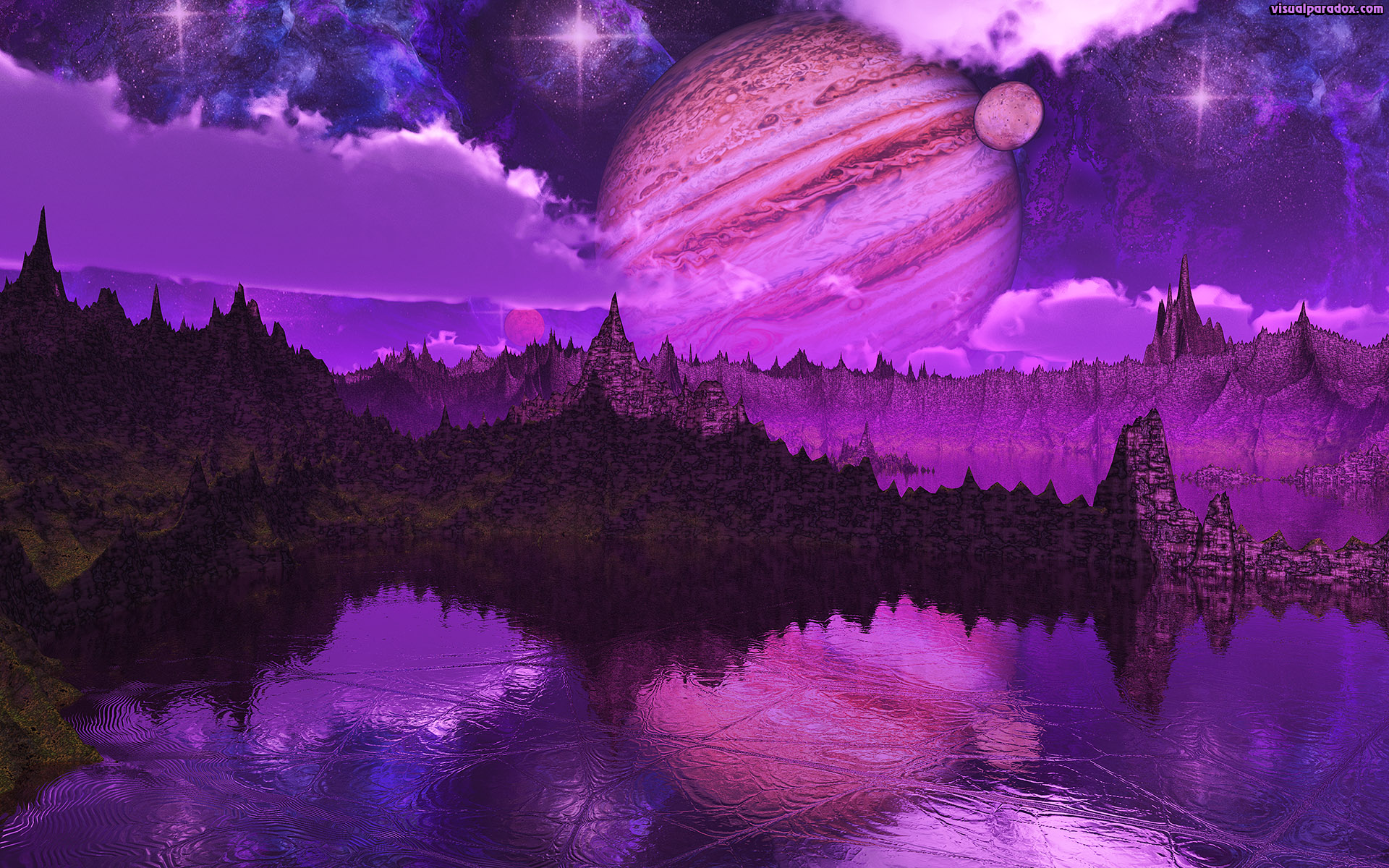 alien, astronomy, background, bright, callisto, cosmos, design, europa, field, galaxy, galilean, ganymede, illustration, io, island, jagged, jupiter, lakes, landscape, moon, mountains, nature, nebula, night, orbit, outer, planet, reflection, science, sea, shining, sky, solar, space, star, starry, sun, universe, world, 3d, wallpaper