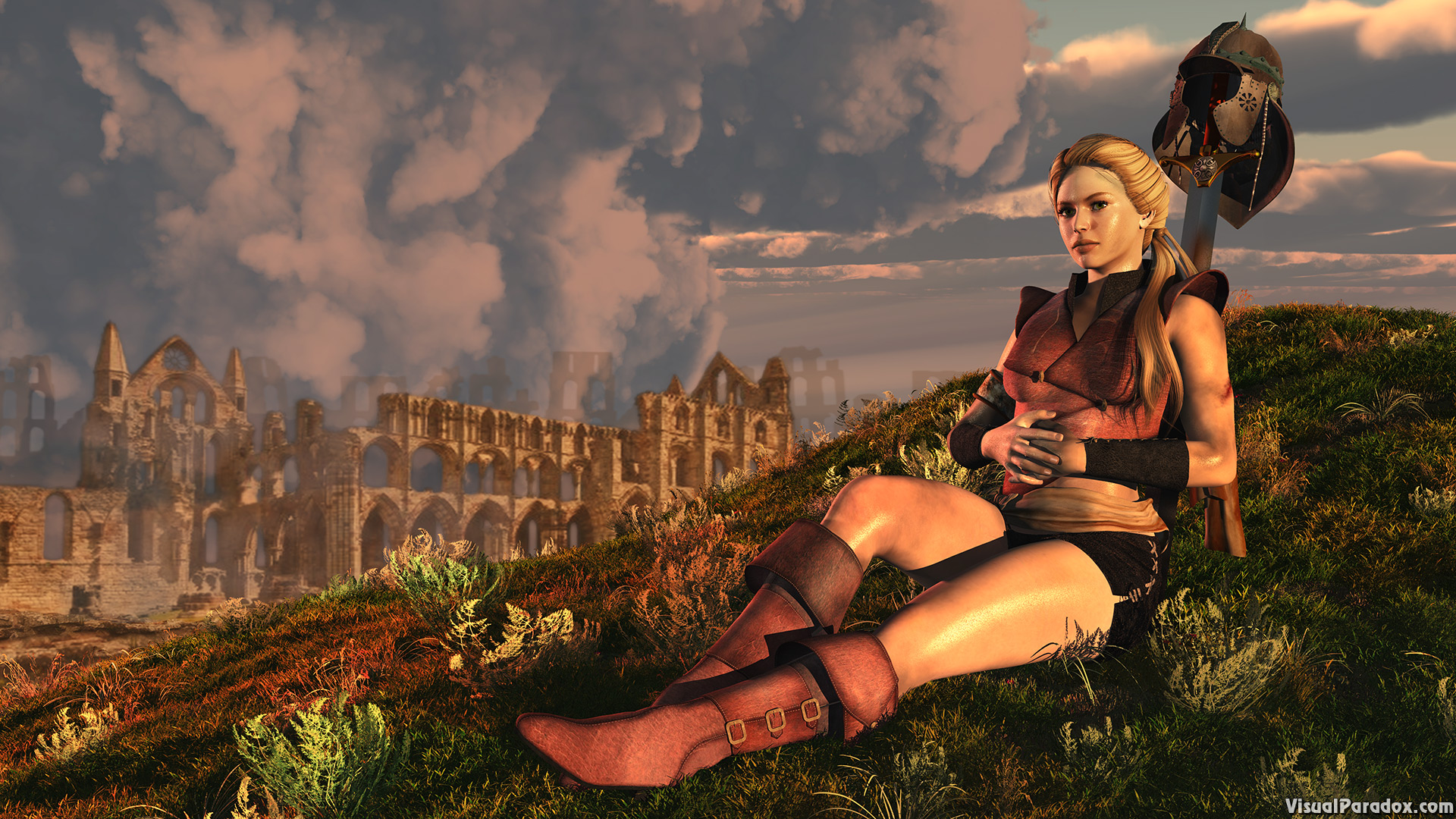 abbey, adult, aggressive, ancient, architecture, armor, armour, attractive, barbarian, battle, beautiful, beauty, building, castle, cathedral, caucasian, church, city, complete, danger, dangerous, elegance, face, fantasy, female, fight, girl, glisten, grass, history, hot, knight, lady, leather, lounge, mission, old, outdoor, person, portrait, pretty, quest, rest, retro, ruins, sack, sexy, sky, steel, sweat, sword, town, war, warrior, weapon, woman, young, 3d, wallpaper