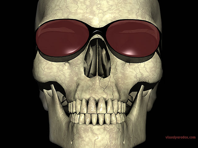 skull, sunglasses, bone, smile, skeleton, teeth, cool, smiley, glasses, evil, death, grim, free, 3d, wallpaper