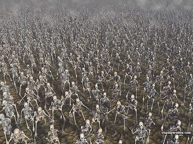 Skeletons, march, zombie, bones, skull, army, marching, crowd, chase, zombies, skeleton, attack, free, 3d, wallpaper