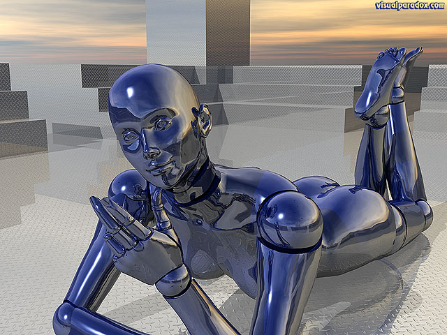 robots, female, bot, girl, lady, woman, fembots, mechs, clockworks, metal, chrome, diamond plate, replicant, android, droid, free, 3d, wallpaper