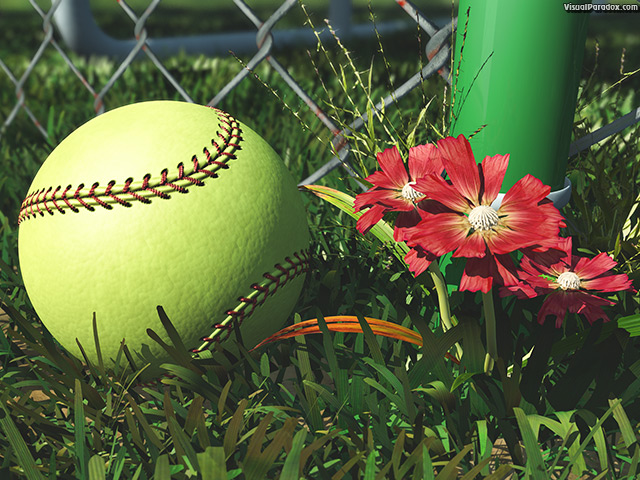 america, american, athletic, athletics, ball, ballpark, barrier, baseball, boundary, chain, closeup, color, detail, equipment, fence, field, flower, foul, game, gear, grass, green, infield, laces, lawn, league, leather, link, little, lost, metal, outdoor, outfield, pink, pitch, practice, recreation, red, season, single, soft, softball, sport, sports, spring, stitches, stitching, summer, team, weeds, wire, yellow, free, 3d, wallpaper