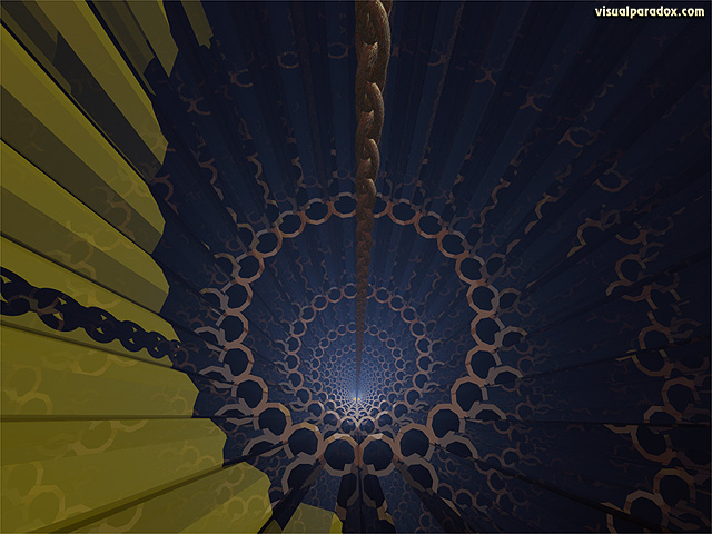 tube, deep, depth, chain, hole, bottomless, pit, free, 3d, wallpaper