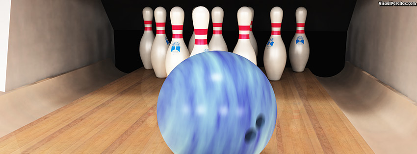 facebook, coverphoto, cover, bowling ball pins lane alley game sport strike spare bowl ten pin, 3d