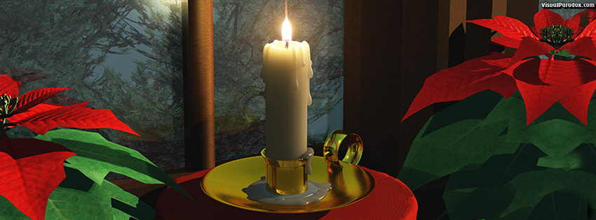 facebook, coverphoto, cover, fire,flame, poinsettia, candlestick, beautiful, candle, candlelight, christmas, cold, december, decoration, evening, holiday, home, illumination, lamp, lantern, life, lighting, lights, magic, night, outdoor, red, seasonal, snow, snowy, still, window, winter, xmas, 3d
