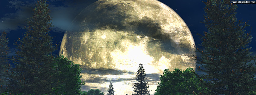 facebook, coverphoto, cover, atmospheric, background, backlit, beautiful, beauty, blue, branch, bright, clouds, country, dark, dramatic, forest, fullmoon, glowing, illustration, landscape, light, luna, lunar, mist, moon, moonlight, moonlit, nature, night, outdoors, pine, round, scene, serenity, shadow, silent, sky, stars, tree, view, white, wood, woods, 3d