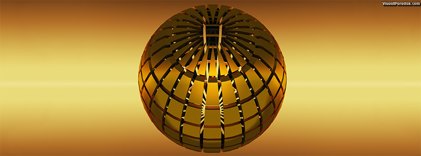 facebook, coverphoto, cover, abstract, ball, business, cage, circle, circular, concept, ball, design, globe, glossy, gold, golden, graphic, grid, logo, mark, metal, metallic, modern, orb, round, slice, sphere, symbol, technology, travel, web, world, yellow, 3d