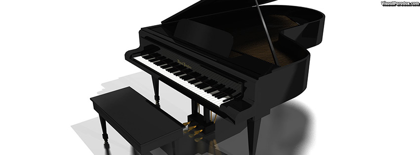 facebook, coverphoto, cover, keyboard, 88, ivories, ivory, black, baby, upright, music, instrument, concert, 3d