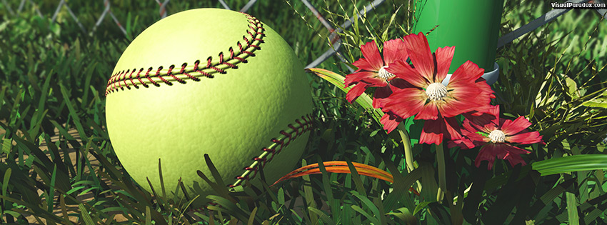 facebook, coverphoto, cover, america, american, athletic, athletics, ball, ballpark, barrier, baseball, boundary, chain, closeup, color, detail, equipment, fence, field, flower, foul, game, gear, grass, green, infield, laces, lawn, league, leather, link, little, lost, metal, outdoor, outfield, pink, pitch, practice, recreation, red, season, single, soft, softball, sport, sports, spring, stitches, stitching, summer, team, weeds, wire, yellow, 3d
