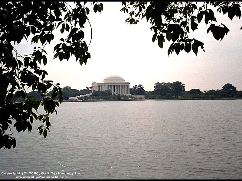 'Jefferson Memorial' 800x600 Free 3D Wallpaper