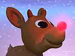 'Rudolph' One of the 3D Wallpapers