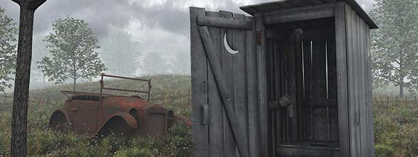 Outhouse Wallpaper & Facebook Covers